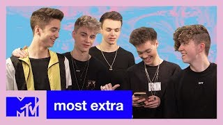 Why Don't We React To Their Instagram Comments | Most Extra | MTV