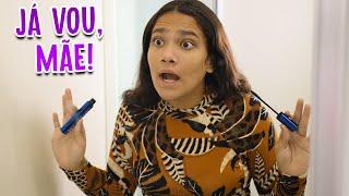 QUANDO A MINHA MÃE ME CHAMA PARA SAIR! - JULIANA BALTAR #SHORT