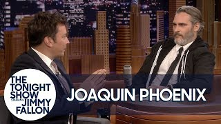 Download Joaquin Phoenix and Jimmy Fallon Trade Places Mp3 and Videos