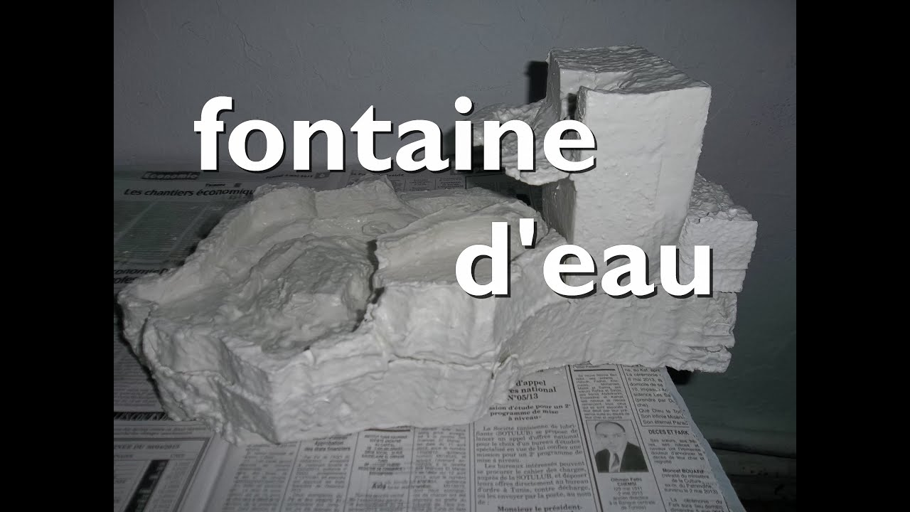 Fabriquer Fontaine Jardin Dedans تجربة رقم [18] ابتكر بنفسك نافورة منزلية    Youtube