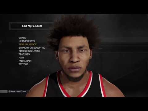 NBA 2K17 Face scan Tutorial | How To Face Scan *100% Working*   - TimmiTHD