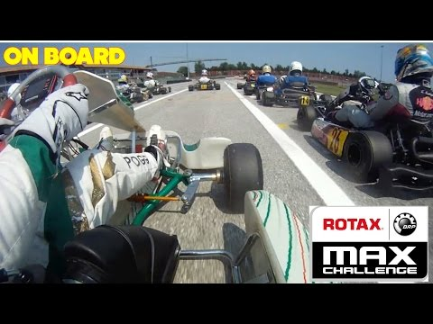 ROTAX MAX CHALLENGE ITALIA ROUND 1 (Go Kart 125 Racing On Board) (Acceleration Sound Exhaust Crash)