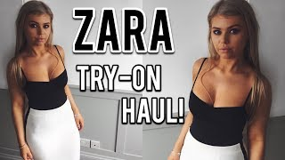 ZARA TRY ON HAUL WINTER 2018   intheluxe