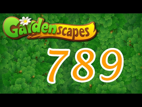 Gardenscapes level 789