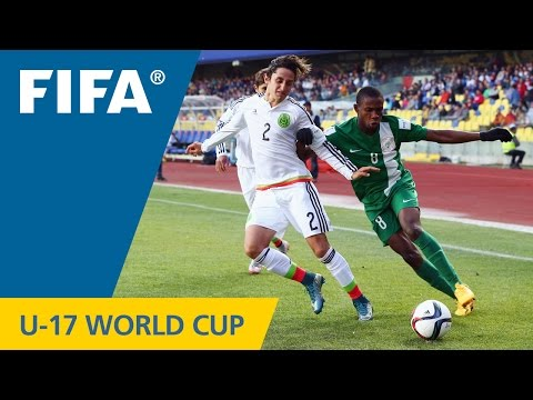Highlights: Mexico V. Nigeria - FIFA U17 World Cup Chile 2015