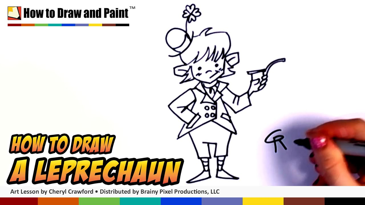 How to draw a leprechaun art for kids st patricks day how to draw a leprechaun art for kids st patricks day drawing lesson part 1 cc youtube ccuart Choice Image