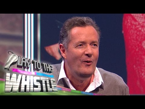 Holly Willoughby Makes Fun of Piers Morgan | Play to the Whistle