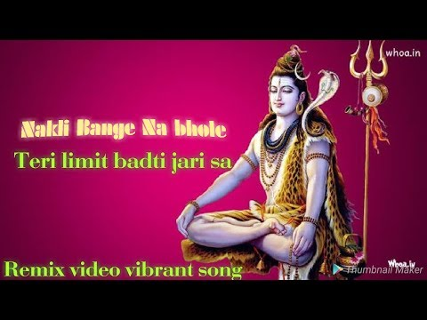 New haryanvi song 2018 || Nakli Bhang  Remix Song || Haryanvi Shiv Bhajan I RAO DJ MUSIC 1