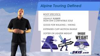 Alpine Touring Defined by Skis com