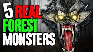 5 REAL Monsters in the Forest! - Darkness Prevails