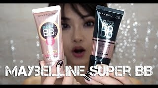 Maybelline Super BB Face-off: Suṗer Cover vs Ultra Cover (WHICH IS BETTER?!)