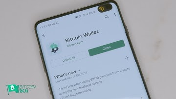 Hands on with the World's Fastest Bitcoin Wallet - Bitcoin.com Wallet Review