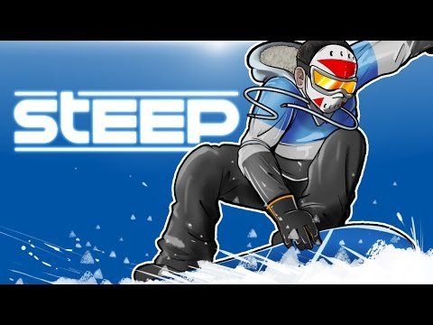 STEEP - SNOWBOARDING, FLYING AND CRASHING!
