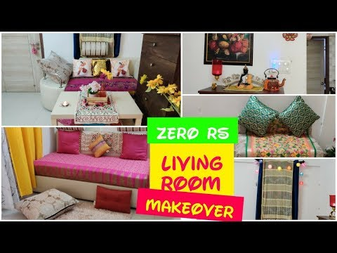 Small Indian Living Room Tour | Zero Rupees Diwali Makeover | SuperStylish Namrata