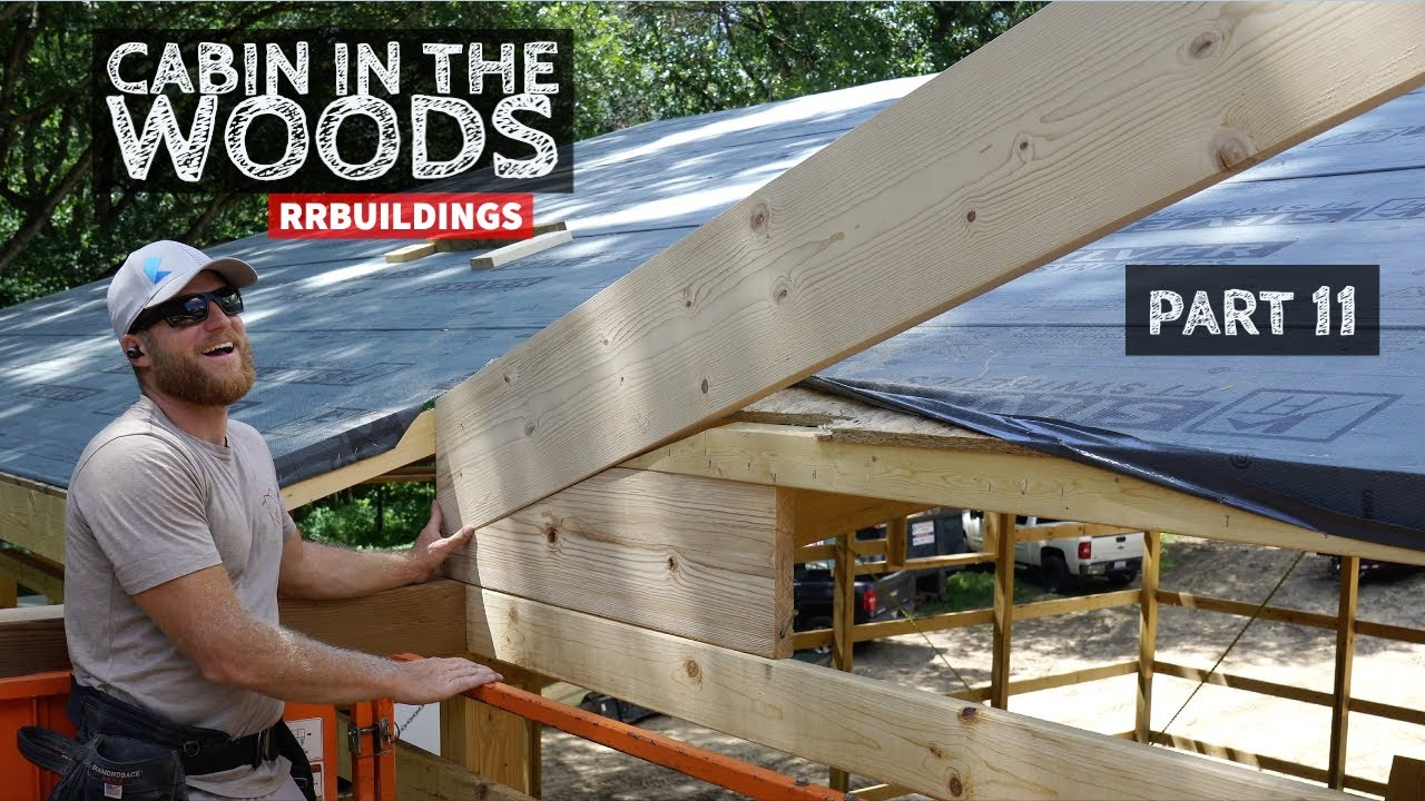 Cabin in the Woods Part 11:  Framing a Second Story Porch