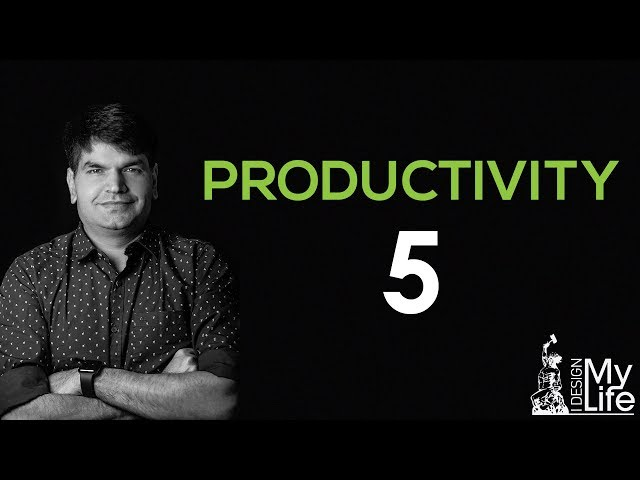 INCREASE PRODUCTIVITY - 5 | TIME MANAGEMENT AUDITS