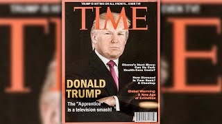 Donald Trump Has Fake Issue Of Time Magazine Hanging Featuring Himself In His Golf Resorts