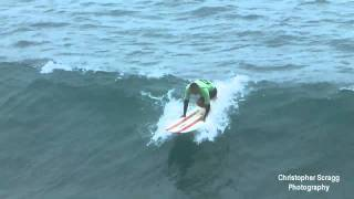 Surfing Footage: Oceanside CA.