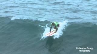 Surfing Footage: Oceanside CA.