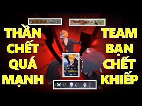 Siêu phẩm hack mạng của Lữ bố Ichigo Thần chết khiến team bạn chết khiếp vì quá khỏe