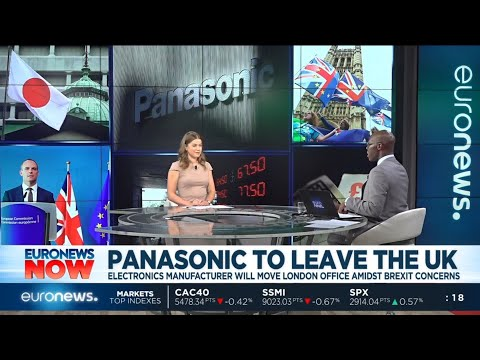 #EuronewsNow | Panasonic Is To Move Its HQ From The UK To The Netherlands