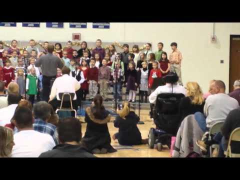 Eastern Hancock Elementary School Christmas 2013(2)