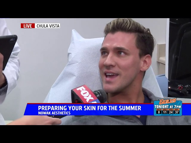 Fox 5 San Diego News - Preparing Your Skin For Summer With Dr. Nowak