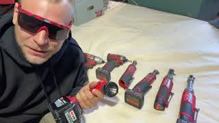 M12 fuel vs review Milwaukee ratchet 1/4 3/8 mechanic tech power tool comparison Electric battery a4