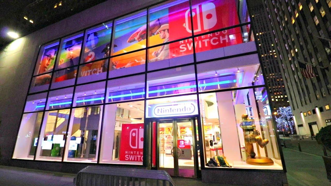 Nintendo Building New York