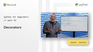 Decorators | Python for Beginners [42 of 44]