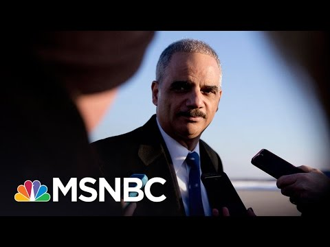 California Hires Former AG Eric Holder To Fight Donald Trump | All In | MSNBC