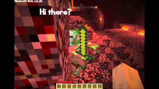 Minecraft Beta - Nether World Adventure