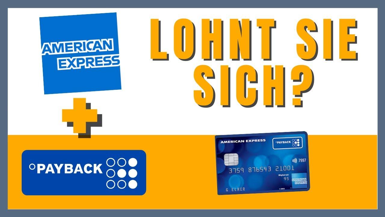 Download American Express Payback Kreditkarte (Lohnt sie sich?)