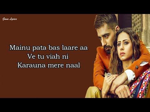 Laare (LYRICS) - Maninder Buttar | Sargun Mehta | Jaani | Latest Punjabi Songs 2019