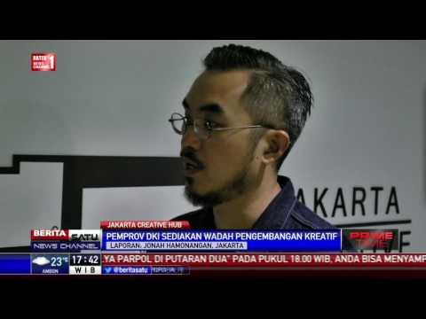 Pemprov DKI Luncurkan Jakarta Creative Hub #GoodJobInJakarta