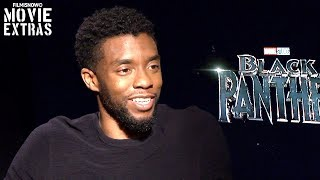 Black Panther (2018) Chadwick Boseman talks about his experience making the movie