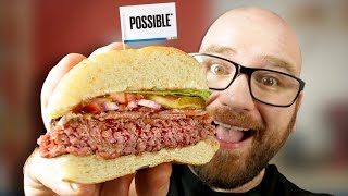 DIY Impossible Burger Copycat recipe at Home! Lets make it from Scratch!