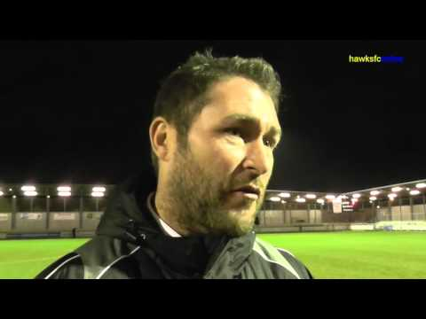 Dartford v Havant & Waterlooville goals & reaction  December 2015