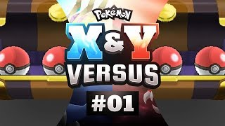 Pokemon X and Y Versus - EP01 | INFINITE MASTER BALLS?!