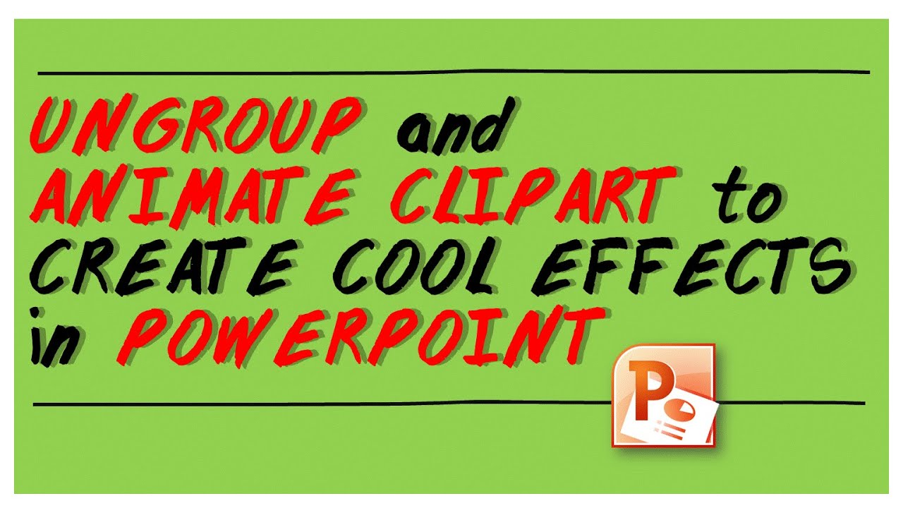 Animate ClipArt in PowerPoint – eLearningArt
