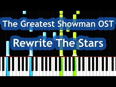The Greatest Showman - Rewrite The Stars Piano Tutorial