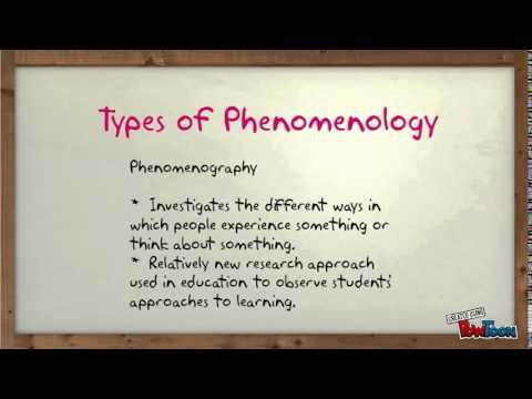 Phenomenological Research