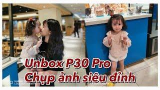 Unboxing P30 Pro | Cam đi chơi cùng mẹ | Gia Đình Cam Cam Vlog 90