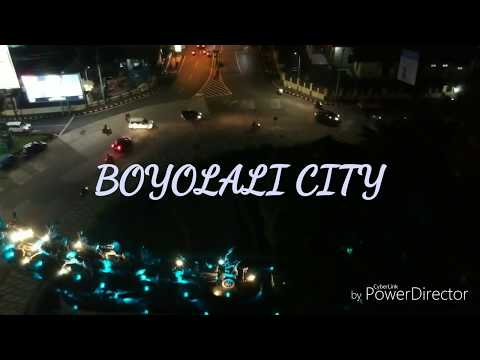 Boyolali di Malam Hari, At Night by Dji Mavic pro.