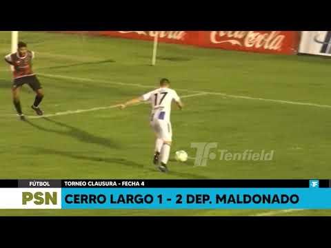 Cerro Largo Maldonado Goals And Highlights