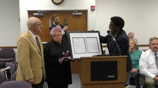 Rev. Roger Bush Honored By TAP Organization With Plaque, Gift