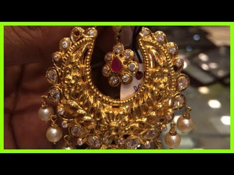 Antique Gold Earrings With Price
