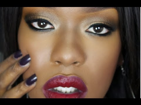 Dark Skin Red Lipstick - YouTube