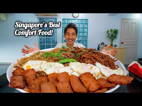 4KG Economic Beehoon Challenge! | Ultimate Singapore Breakfast Food! | Singapore Street Food!