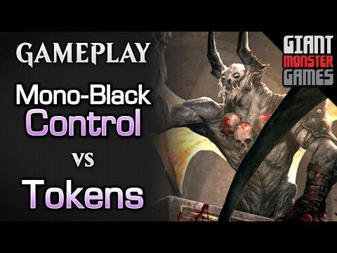 Mono Black Control -vs- BW Tokens - MTGO Gameplay #7